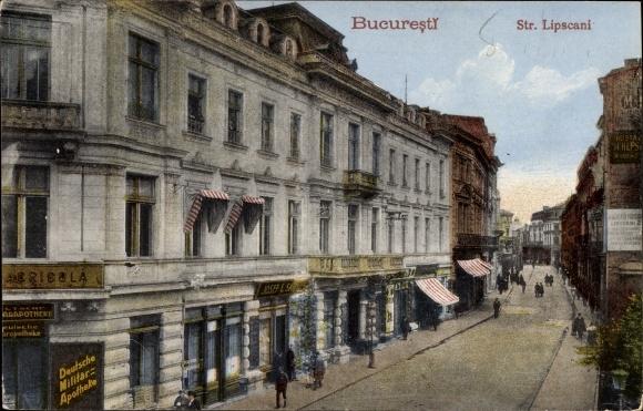 Ak București Bukarest Rumänien, Strada Lipscani