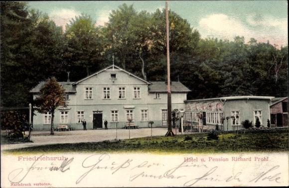 Ak Friedrichsruh Aumühle, Blick auf das Hotel Richard Prohl