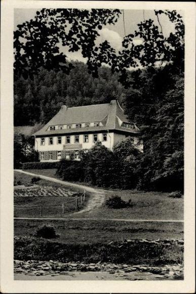 10 alte Ak Schwarzburg in Thüringen, Diverse Ansichten