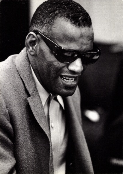 Ak Sänger Ray Charles, Portrait, Georgia on my mind