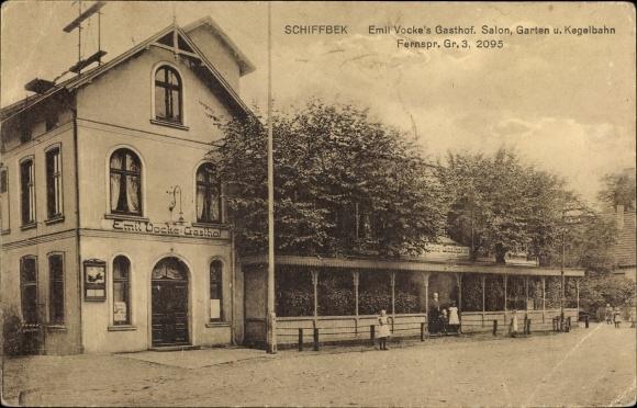 Ak Hamburg Mitte Billstedt Schiffbek, Emil Vocke's Gasthof