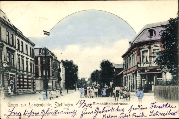 Ak Hamburg Eimsbüttel Stellingen Langenfelde, Eimsbütteler Straße, Geschäft G. Kalau
