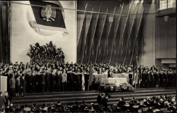 Ak Berlin Mitte, 3. Parteikonferenz der SED, März 1956