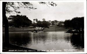 Ak Rio de Janeiro Brasilien, Quinta da boa vista