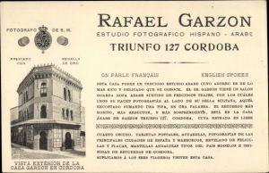 Ak Cordoba Andalusien Spanien, Rafael Garzon, Casa Garzon