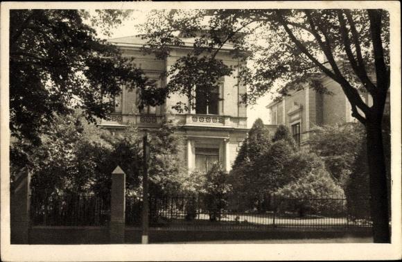 Ak Hamburg Eimsbüttel Harvestehude, Mittelweg Nr. 98, Villa und Garten