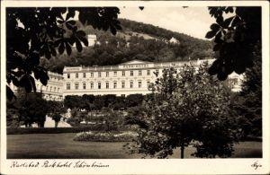 Ak Karlsbad im Kreis Karlsruhe Baden Württemberg, Blick auf das Parkhotel Schönbrunn