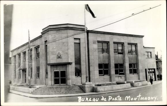 Foto ak montmagny québec kanada bureau de poste postamt nr