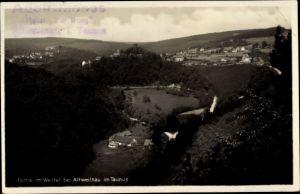 Ak Altweilnau Weilrod im Weiltal Hochtaunuskreis, Blick auf den Ort mit Umgebung