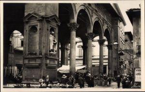Ak Firenze Florenz Toscana, Loggia del Mercato Nuovo