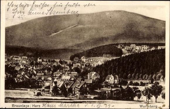 10 alte Ak Braunlage im Oberharz, diverse Ansichten 8