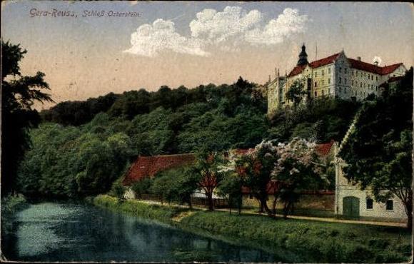 10 alte Ak Gera in Thüringen, diverse Ansichten 2