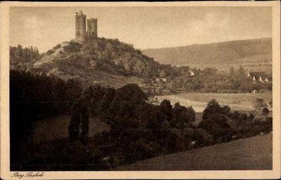 10 alte Ak Rudelsburg in Bad Kösen Naumburg Saale, diverse Ansichten 3