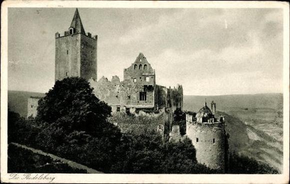 10 alte Ak Rudelsburg in Bad Kösen Naumburg Saale, diverse Ansichten 7