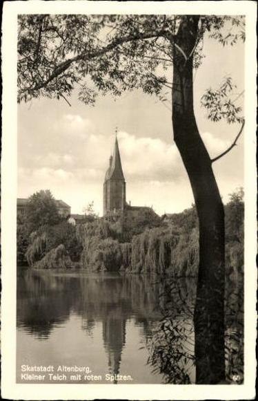 10 alte Ak Altenburg in Thüringen, diverse Ansichten 1
