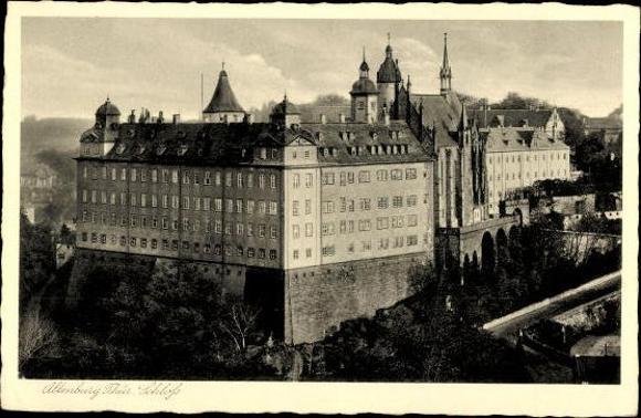 10 alte Ak Altenburg in Thüringen, diverse Ansichten 4