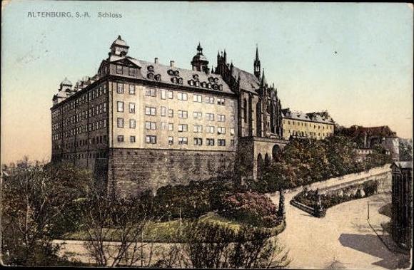 10 alte Ak Altenburg in Thüringen, diverse Ansichten 5