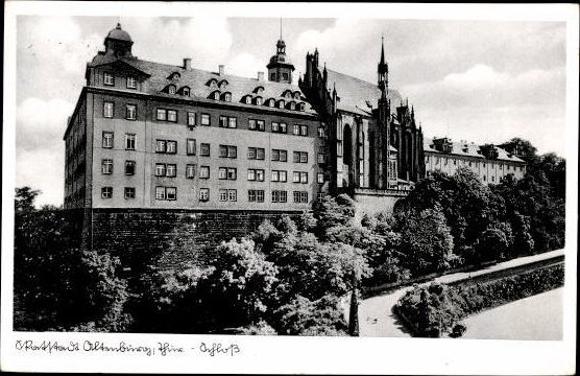 10 alte Ak Altenburg in Thüringen, diverse Ansichten 7