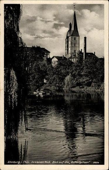 10 alte Ak Altenburg in Thüringen, diverse Ansichten
