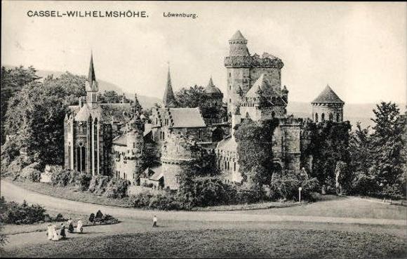 10 alte Ak Kassel Wilhelmshöhe in Hessen, diverse Ansichten 1