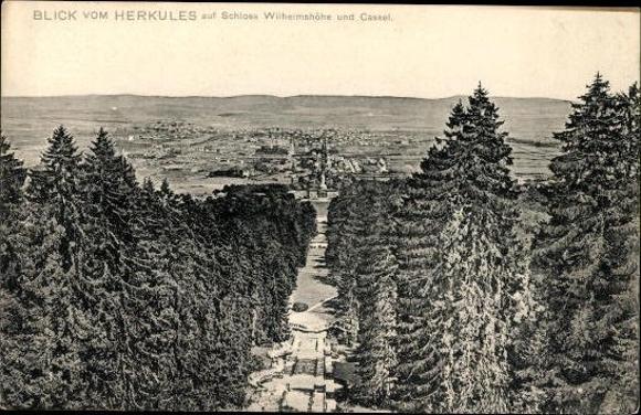 10 alte Ak Kassel Wilhelmshöhe in Hessen, diverse Ansichten 2