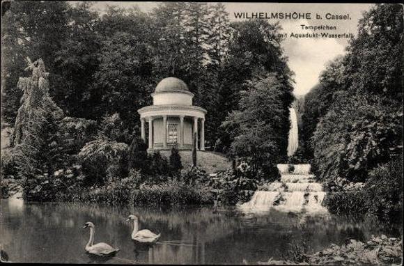10 alte Ak Kassel Wilhelmshöhe in Hessen, diverse Ansichten 3