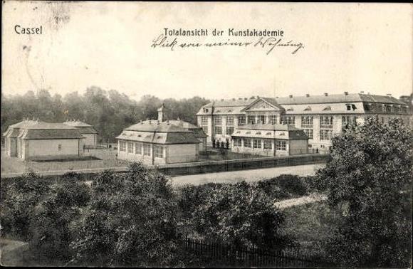 10 alte Ak Kassel Wilhelmshöhe in Hessen, diverse Ansichten 7