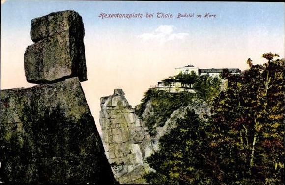 10 alte Ak Thale und Umgebung, diverse Ansichten 7