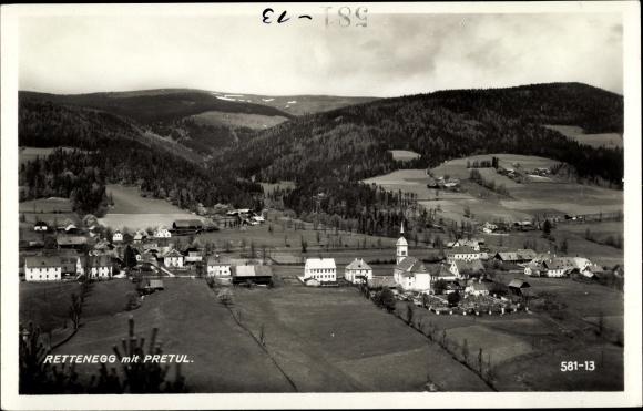 Ak Rettenegg in der Steiermark, schöne Detailansicht 0