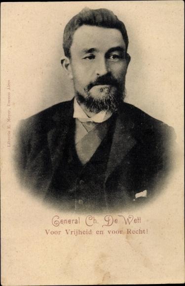 Ak General Christiaan de Wet, Portrait, Burenkrieg, Südafrika