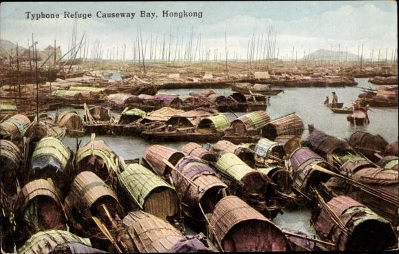 Ak Hongkong China, Typhone Refuge, Causeway Bay
