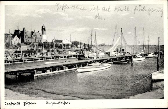 Ak Baltijsk Pillau Kaliningrad Ostpreußen, Seglerhafen