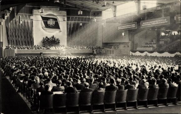Ak Berlin, 3. Parteikonferenz der SED, 24-29. März 1956