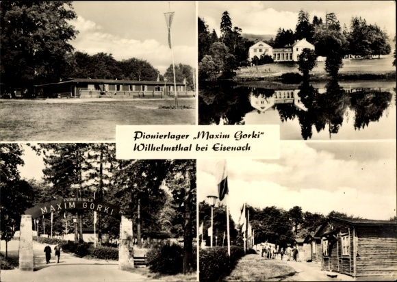 Ak Wilhelmsthal Marksuhl in Thüringen, Pionierlager Maxim Gorki