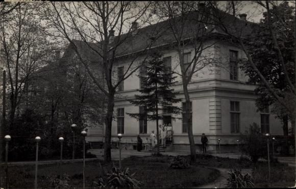 Ak Jimbolia Hatzfeld Rumänien, Spitalul de stat, Staatsspital