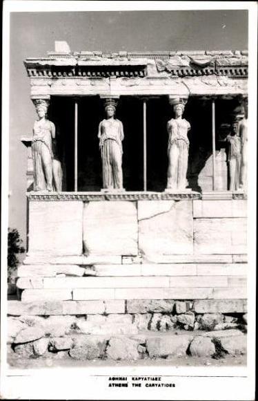 10 alte Ak Athen Griechenland, diverse Ansichten