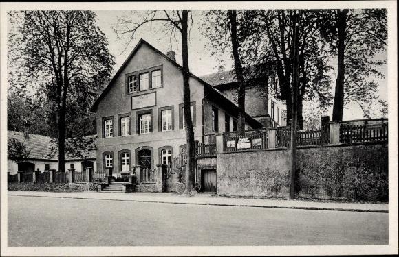 Ak Osnabrück in Niedersachsen, Kaffeehaus zum Schmied im Hone, Inh. H. Sandmann, Steinkamp