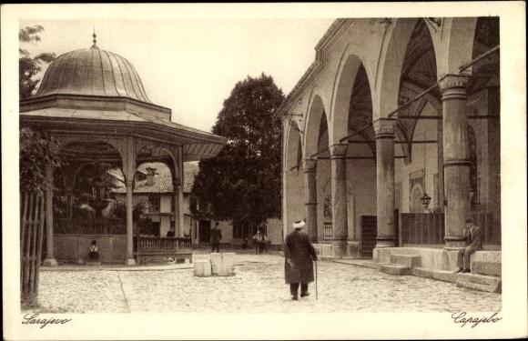 Ak Sarajevo Bosnien Herzegowina, Dvoriste Begove dzamije