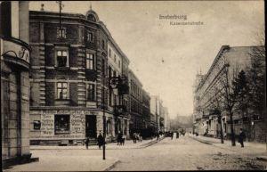 Ak Tschernjachowsk Insterburg Ostpreußen, Kasernenstraße, Militärbedarfsgeschäft