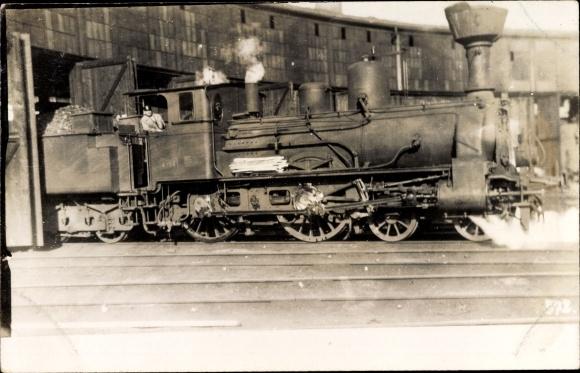 Foto Ak Österreichische Eisenbahn, Dampflokomotive, 4158