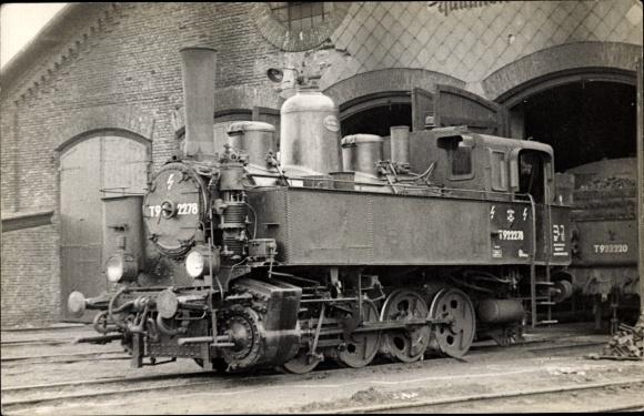 Foto Ak Österreichische Eisenbahn, Dampflokomotive, T 922278