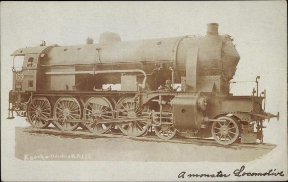Foto Ak Österreichische Eisenbahn, Dampflokomotive, 355
