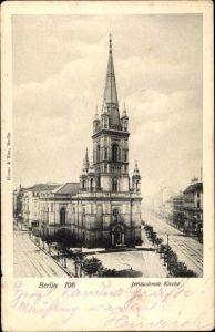Ak Berlin Kreuzberg, Jerusalemer Kirche, Berlin 106