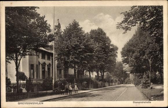 Ak Grevesmühlen im Kreis Nordwestmecklenburg, Bismarckstraße