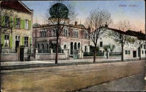 Judaika Ak Delme Delm Moselle, Ansicht der Synagoge