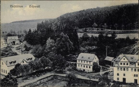 Ak Nastätten im Rhein Lahn Kreis, Schwall, Panorama vom Ort