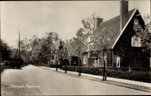 Ak Oldenzaal Overijssel Niederlande, Haerstraat, Straßenpartie im Ort