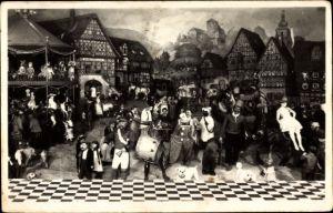 Ak Sonneberg in Thüringen, Deutsches Spielzeugmuseum, Thüringer Kirmes