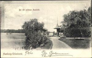 Ak Hamburg Nord Uhlenhorst, Bei der schönen Aussicht
