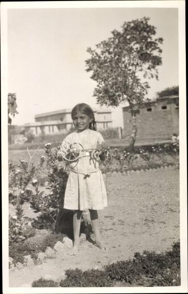 Foto Ak Lucknow Indien, La maison des soeurs et l'école
